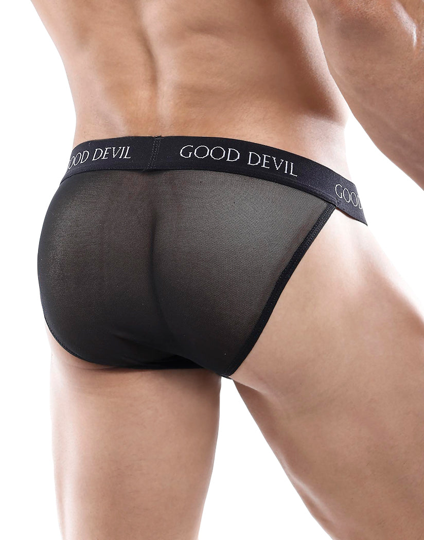 Black Back Good Devil Micro Bikini GDI0015