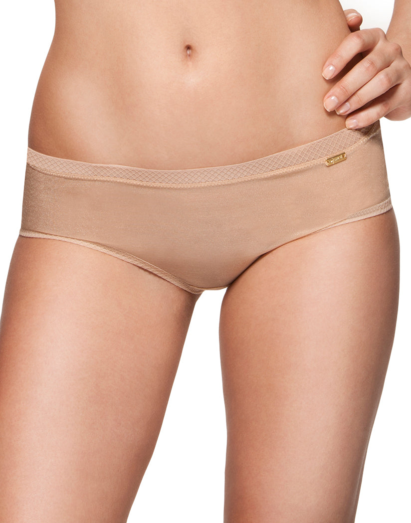 Nude Front Glossies Sheer Short