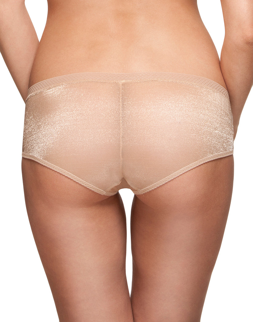 Nude Back Glossies Sheer Short