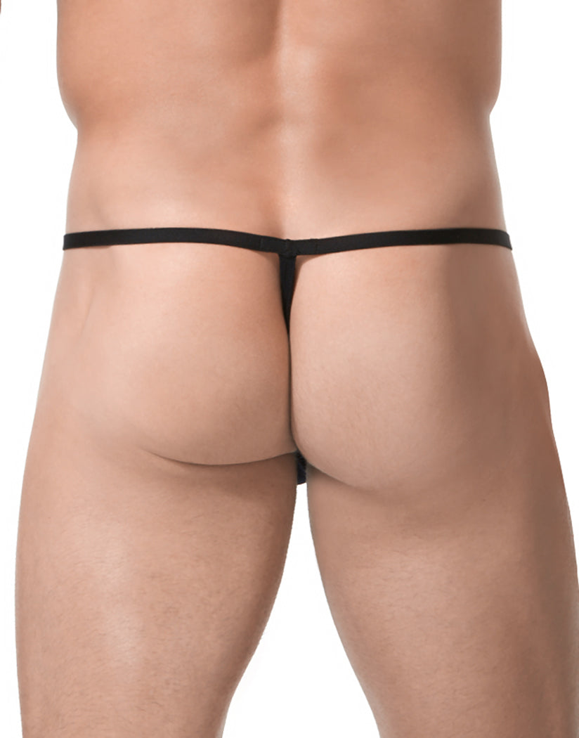 Black Back Gregg Homme Xcite G String 152414