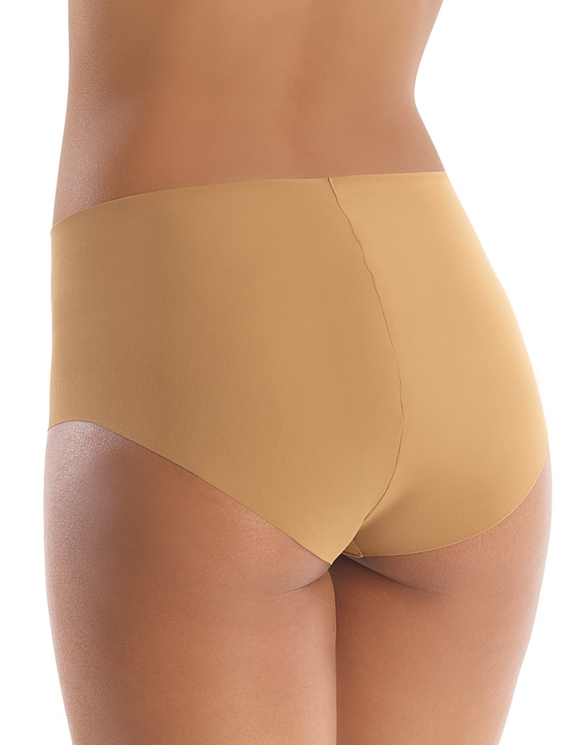 Caramel Back Commando Classic High Rise Panty - HRP01