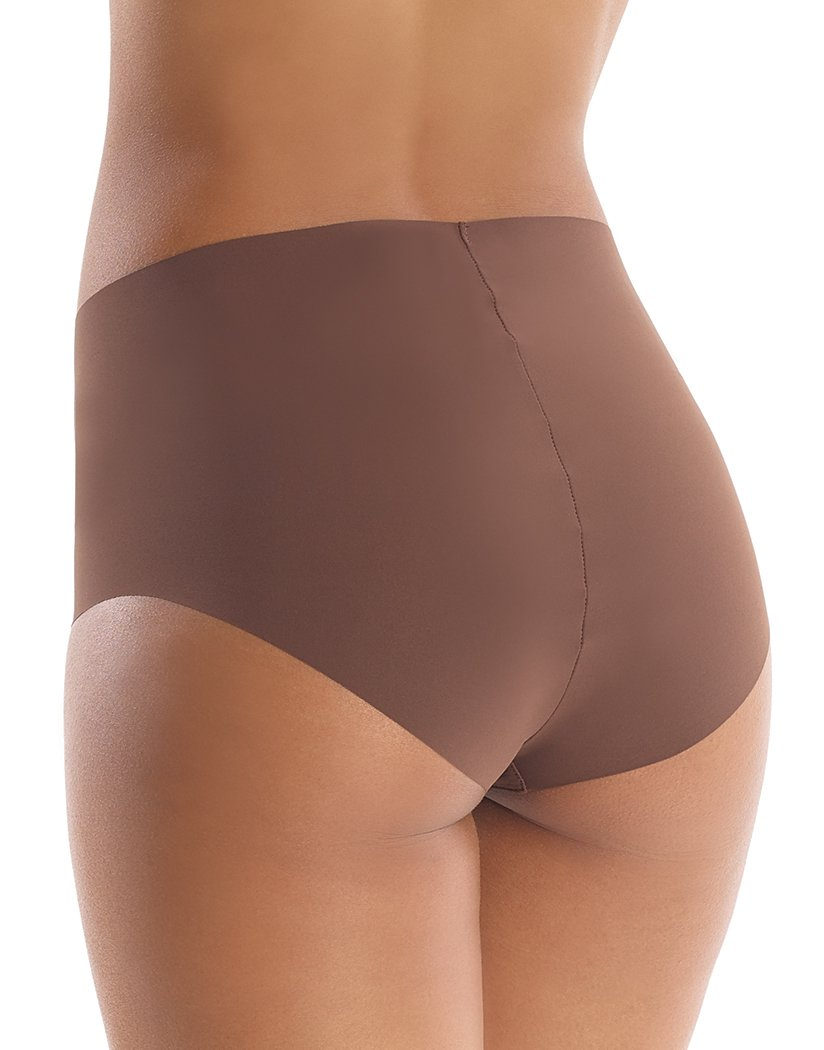 Mocha Back Commando Classic High Rise Panty - HRP01