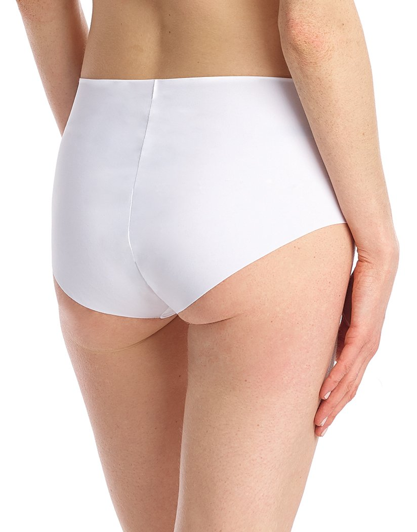 White Back Commando Classic High Rise Panty - HRP01