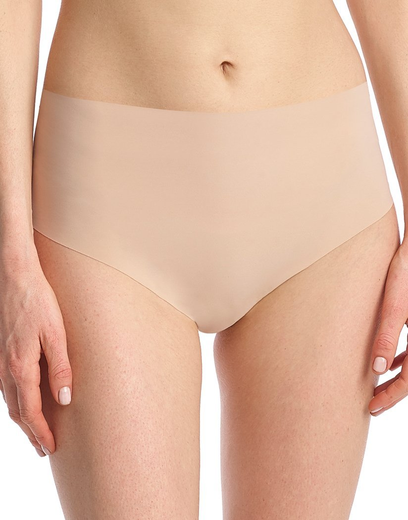 Beige Front Commando Classic High- Rise Thong Beige HRT01