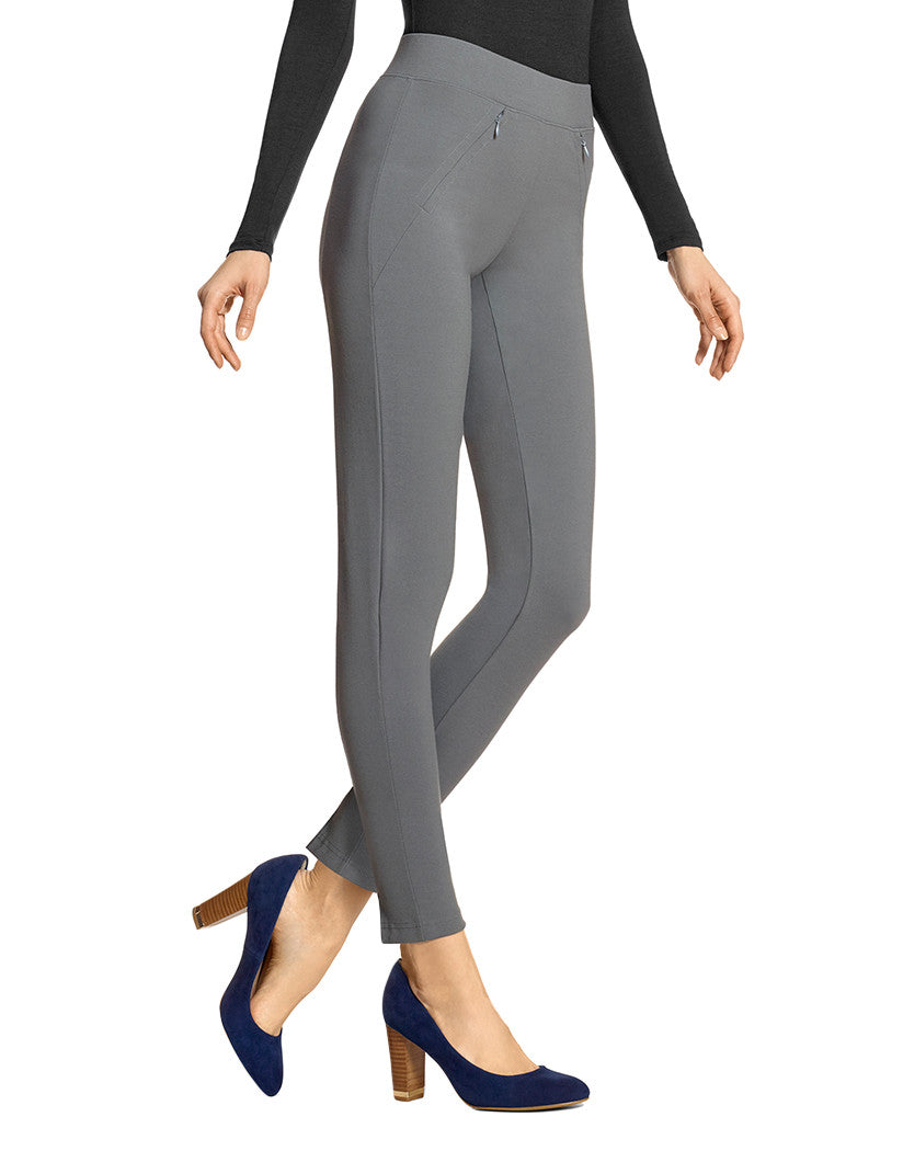 Castelrock Front Cropped Treggings with Black Slit