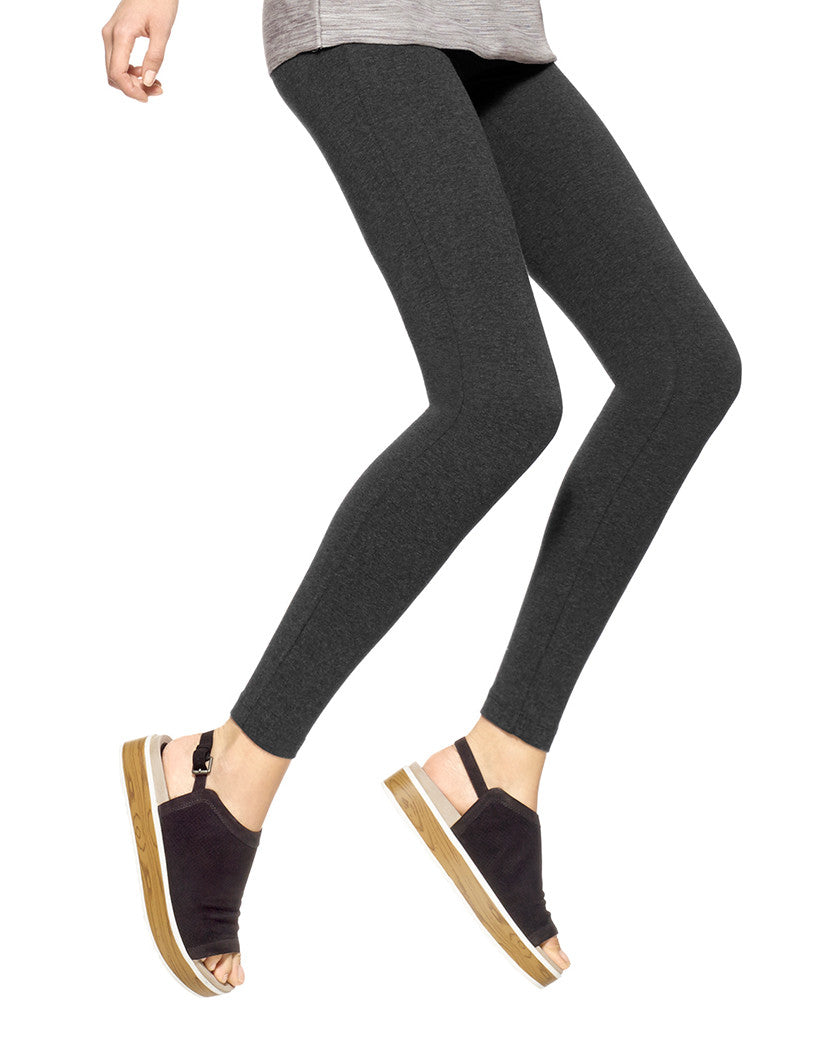 Graphite Heather Temp Control Cotton Leggings
