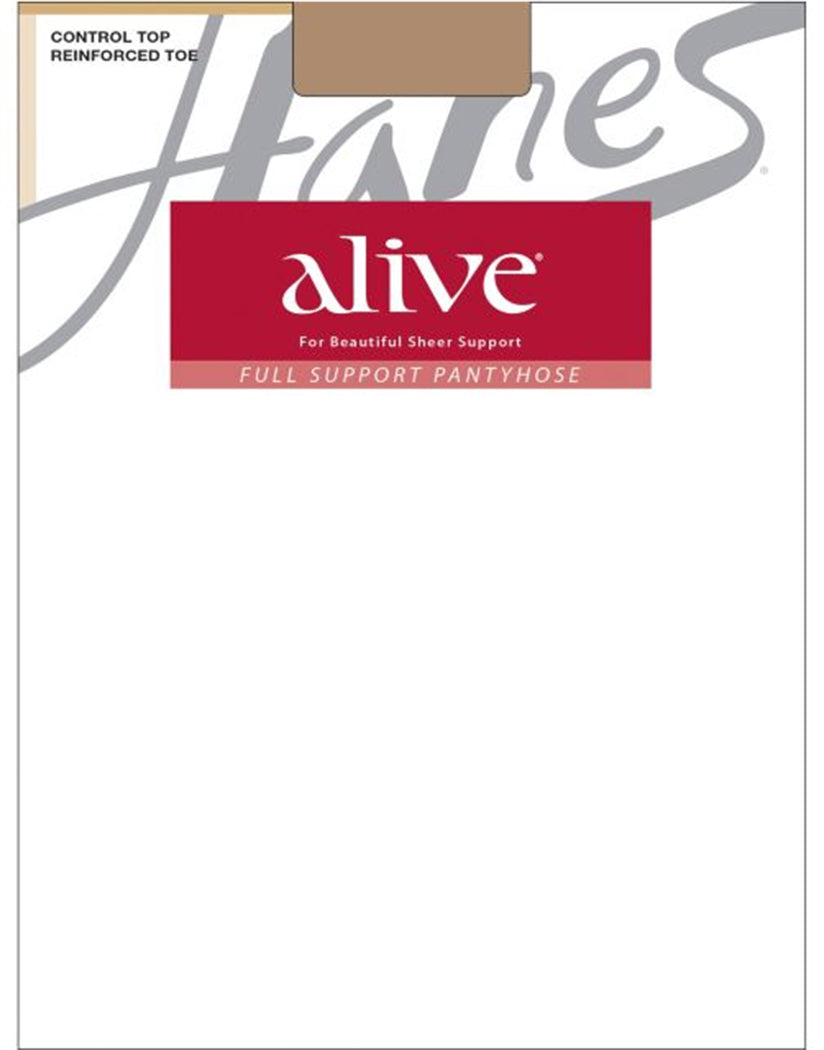 Barely There Front Hanes Women Alive Full Support Control Top Pantyhose 810