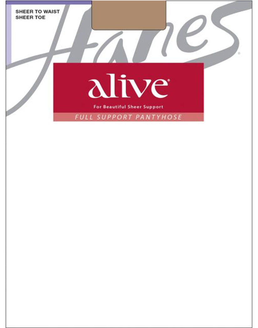 Barely There Front Hanes Women Alive Full Support Sheer to Waist Pantyhose 811