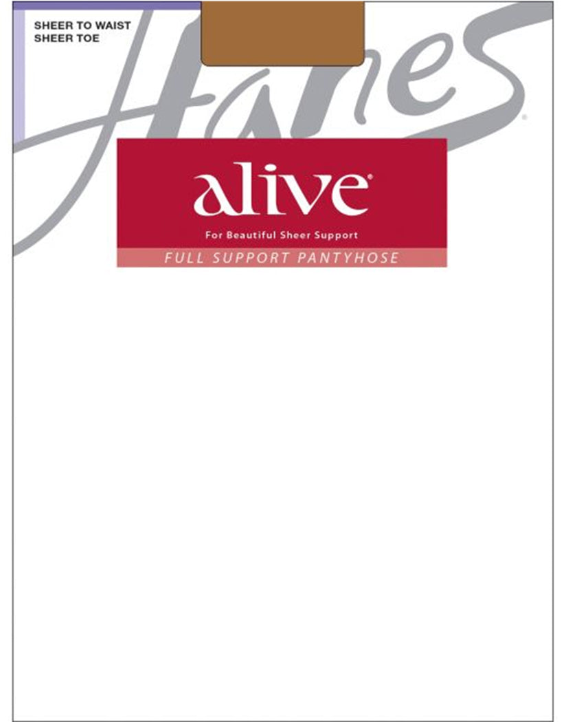 South Pacific Front Hanes Women Alive Full Support Sheer to Waist Pantyhose 811