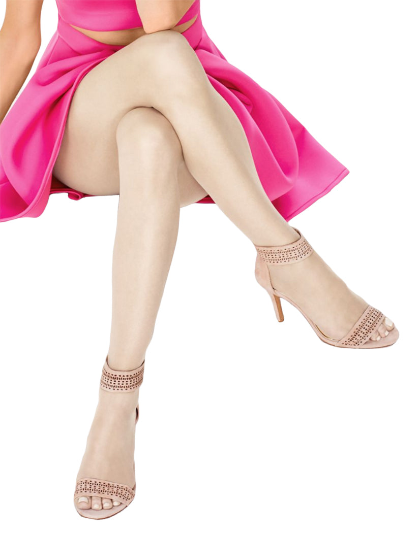 3046a61eee2 Natural Front Hanes Silk Reflections Ultra Sheer Toeless Control Top  Pantyhose 0B376