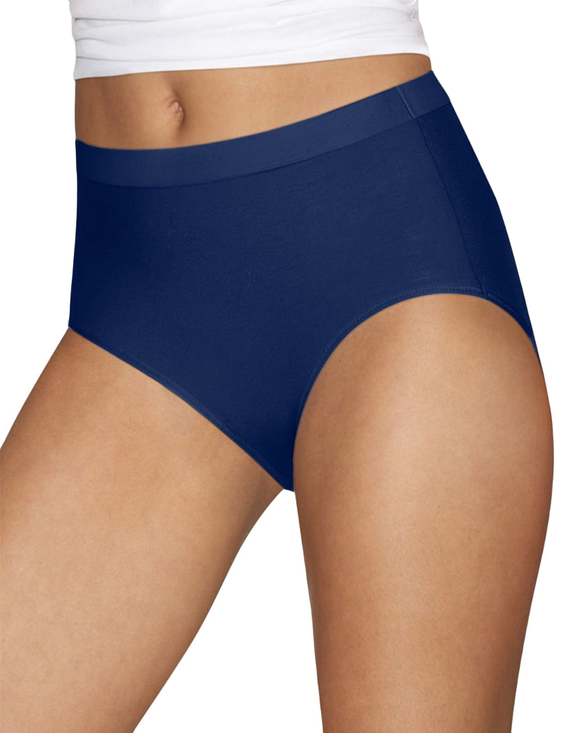 Blue Front Hanes Ultimate™ Women Constant Comfort® X-Temp® Brief 3-Pack