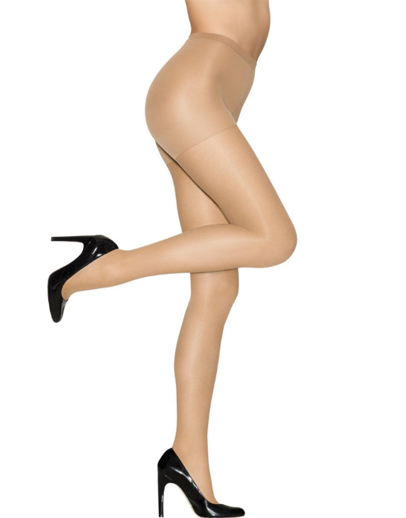 4a8ab7020c3 Barely There Front Hanes Alive Full Support Control Top Pantyhose. Touch to  zoom