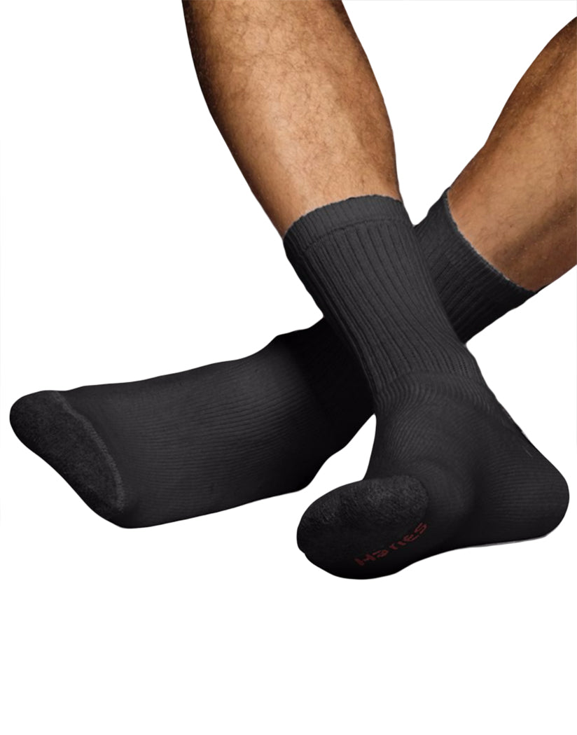 Black Front Ultimate Men's ComfortSoft® Crew Socks 6-Pack