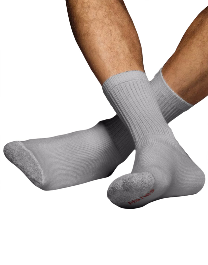 Grey Front Ultimate Men's ComfortSoft® Crew Socks 6-Pack