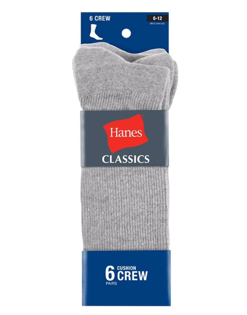 Grey Other Ultimate Men's ComfortSoft® Crew Socks 6-Pack
