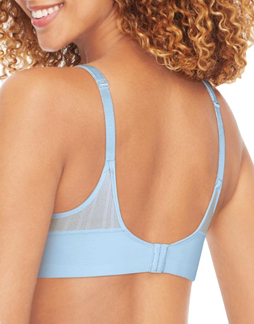 Whispering Blue Back Hanes Women Ultimate Lightweight Comfort Wirefree Bra DHHU22
