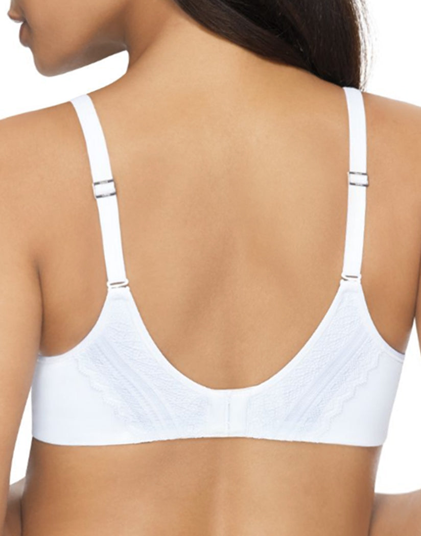 White Back Hanes Women Ultimate Natural Lift Wirefree Bra DHHU25