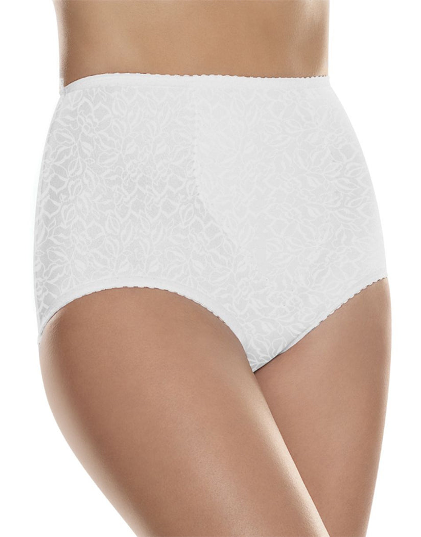 Soft White Hanes 2-Pack Light Control with Tummy Panel Brief
