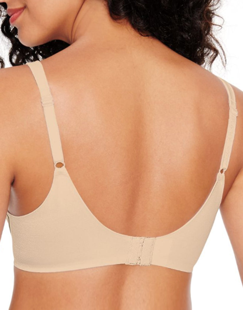 Nude Heather Back Hanes Ultimate Perfect Coverage ComfortFlex Fit® Wirefree Bra