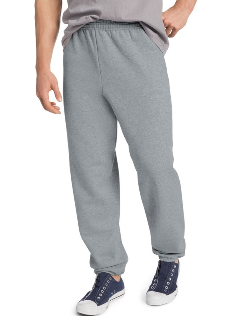 Light Steel Front Hanes ComfortBlend® EcoSmart® Men's Sweatpants