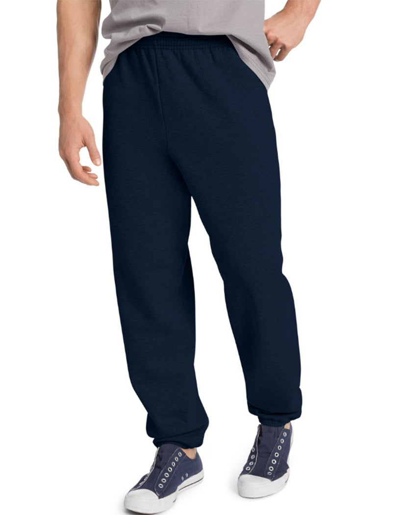 Deep Royal Front Hanes ComfortBlend® EcoSmart® Men's Sweatpants