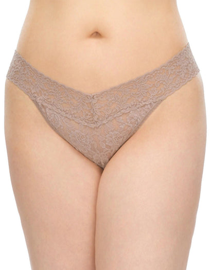 Chai Front Hanky Panky Stretch Lace Plus Size Thong
