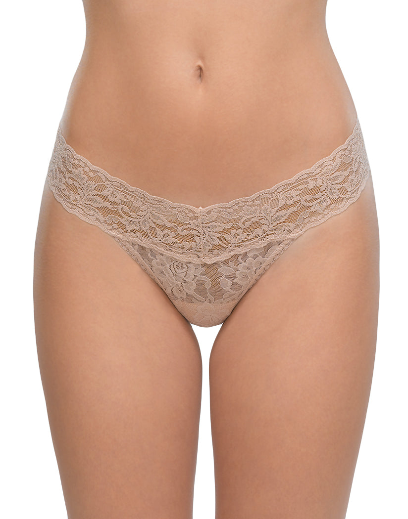 Chai Front Hanky Panky Signature Stretch Lace Petite Low Rise Thong