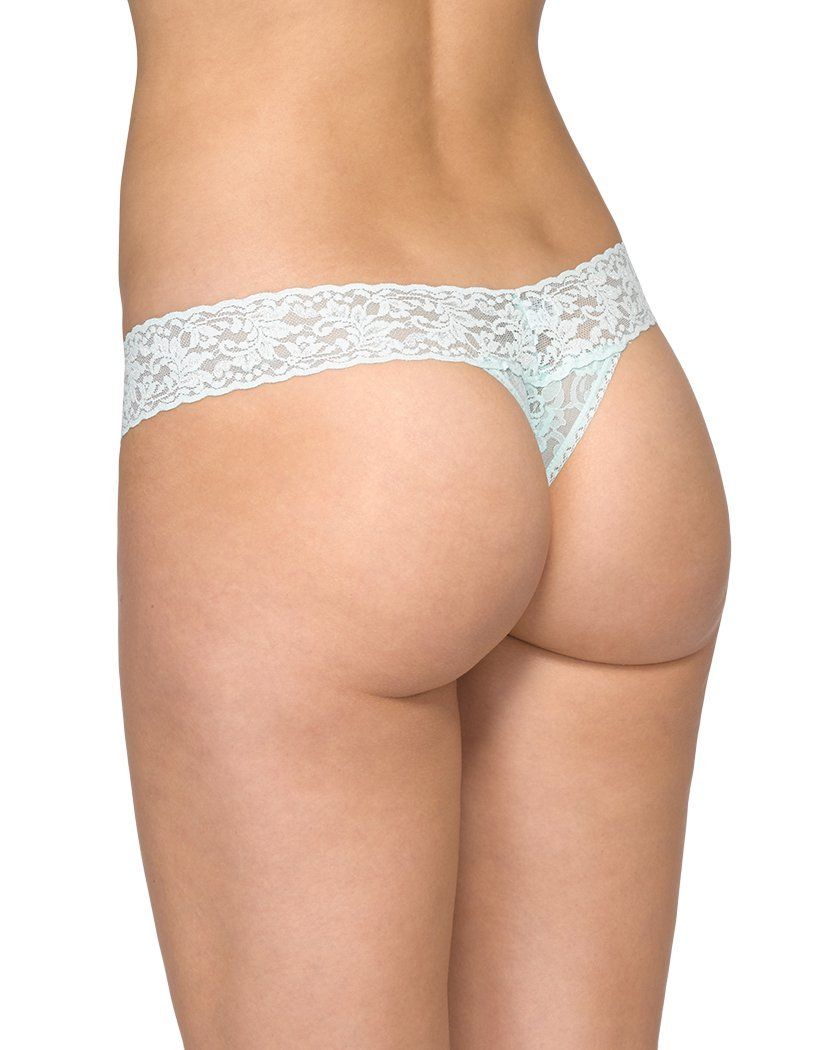 Pistachio Ice Back Hanky Panky Signature Lace Low Rise Thong