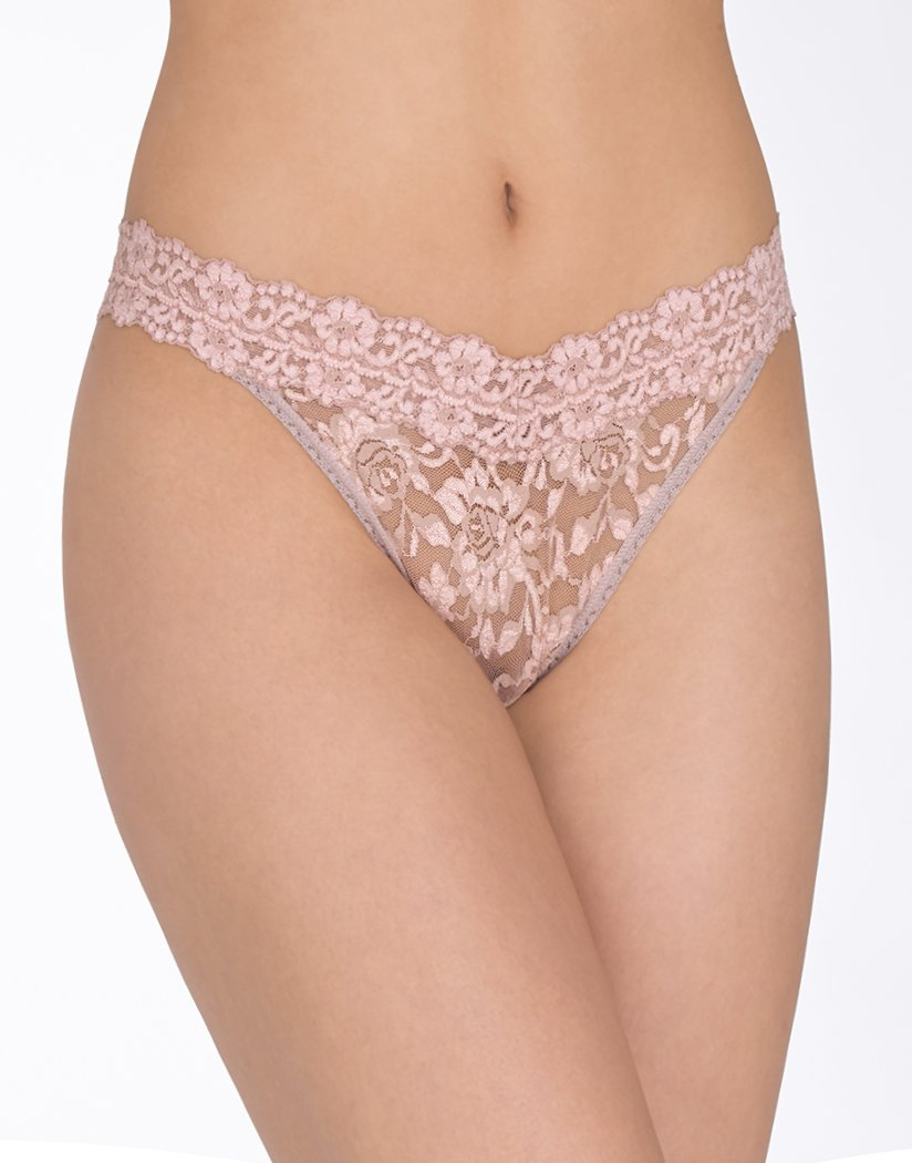 Hanky Panky Cross- Dyed Signature Lace Thong Panty 591104