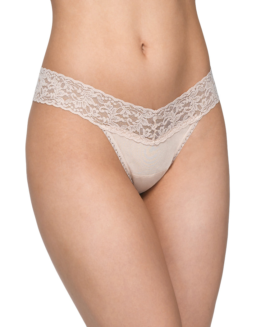 Chai Front Hanky Panky Cotton With A Conscience Low Rise Thong