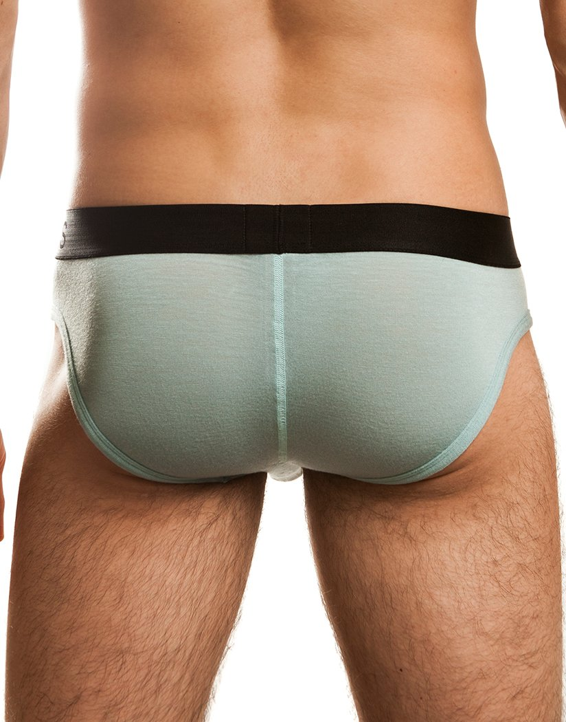 Seafoam Back Jack Adams Men's Naked Fit Brief Seafoam