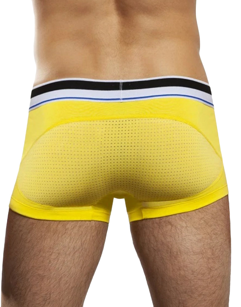 Yellow Back Jack Adams Game On Cotton Mesh Trunk Underwear 401-226