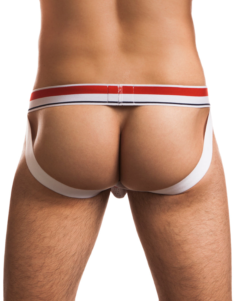 White Back Jack Adams Hero Flex Jockstrap