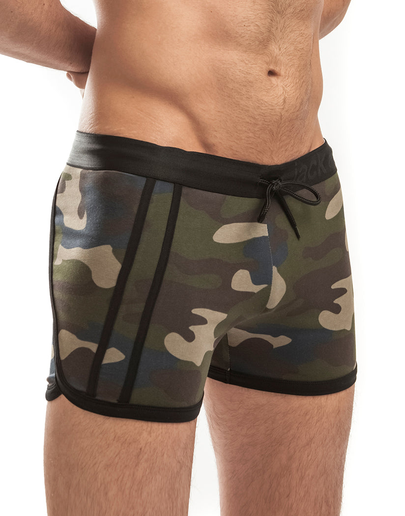 Camo Side Jack Adams Cross Fit Short 402-125