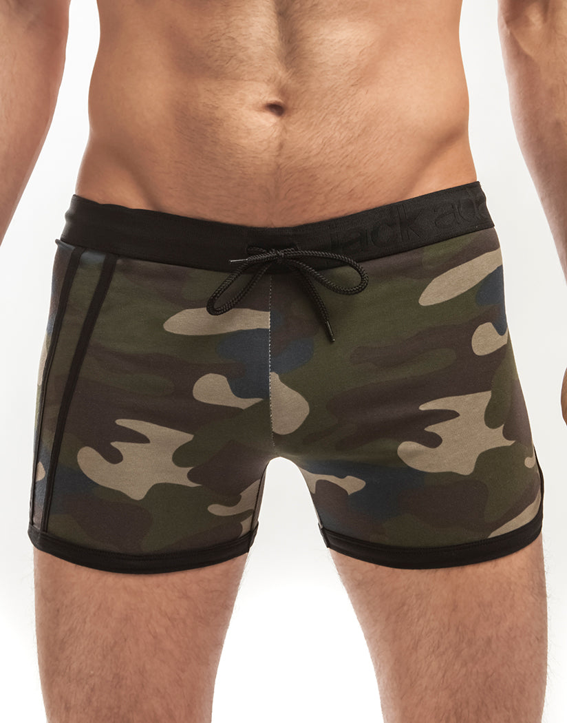 Camo Front Jack Adams Cross Fit Short 402-125