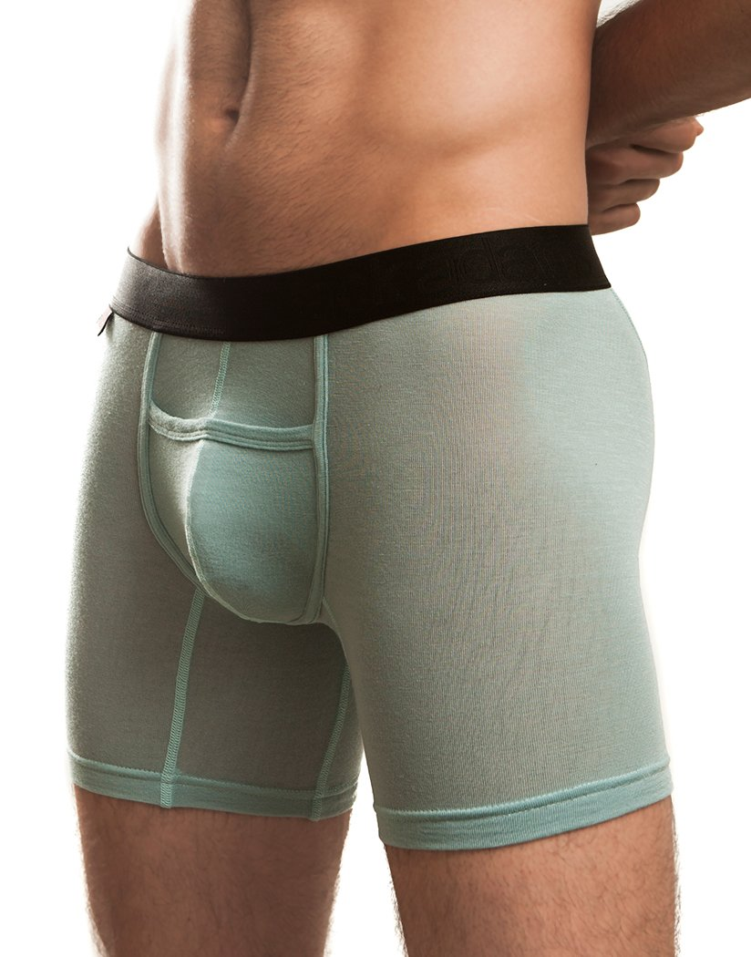 Seafoam Front Jack Adams Naked Fit Boxer Brief 401-222