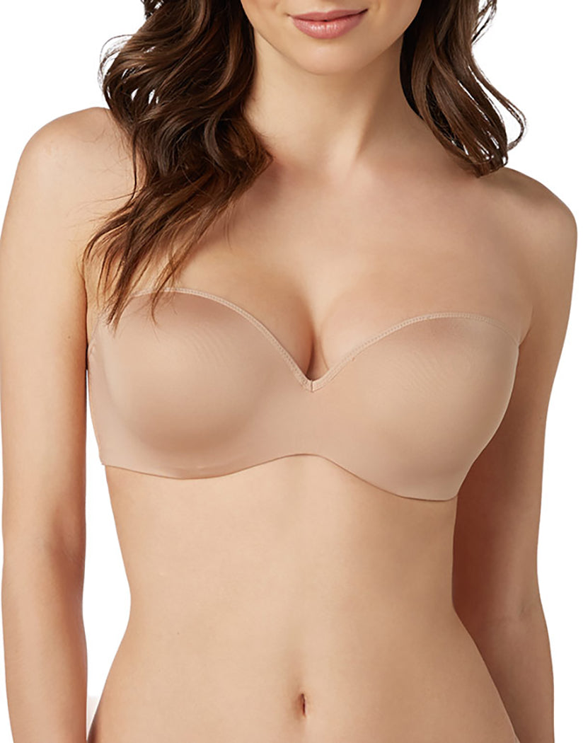 Natural Front Le Mystere Sculptural Strapless Push-Up Bra