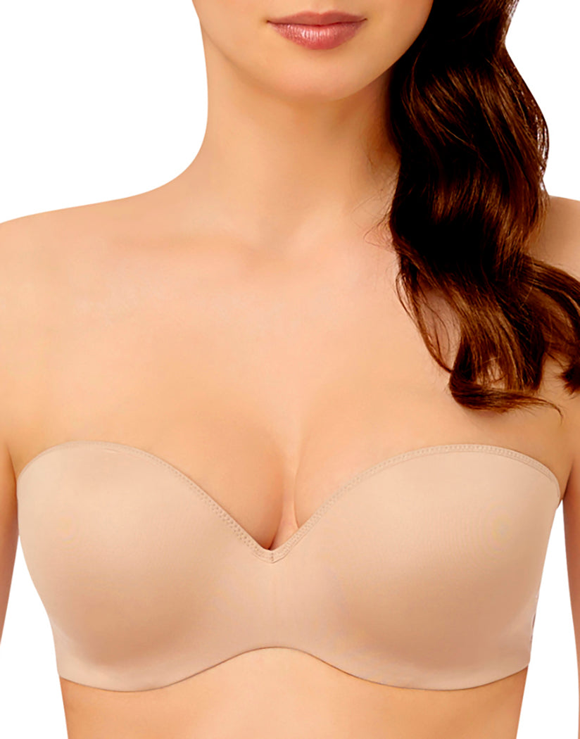 Nude Front Le Mystere Sculptural Strapless Push-Up Bra