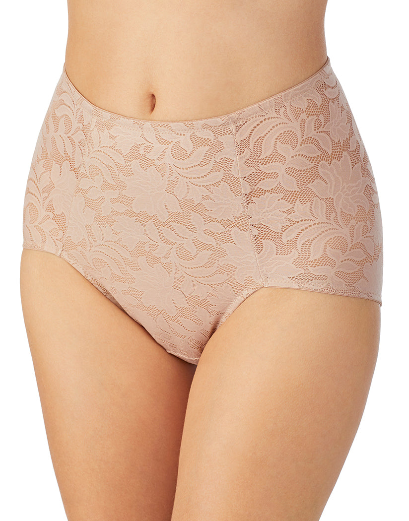 Natural Front Le Mystere Lace Comfort Brief 4452