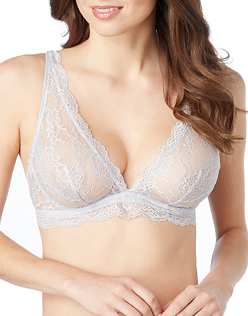 Frost Grey Front The Perfect 10 Bralette
