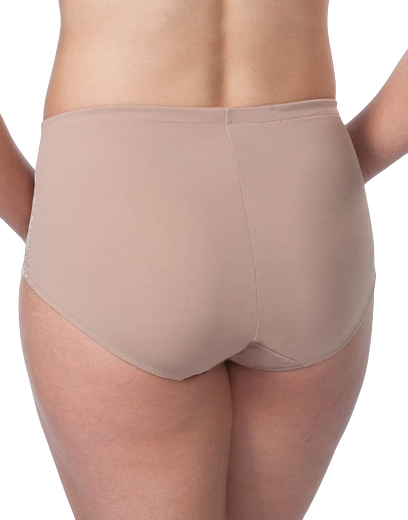 Warm Taupe Back Leading Lady Luxe Body Panty Briefs 5810