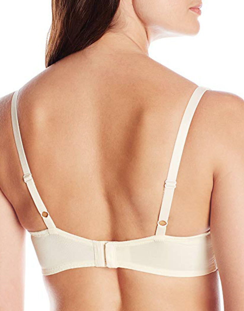 Ivory Back Lunaire Sevilla Scroll Embroidered Demi Bra 14011