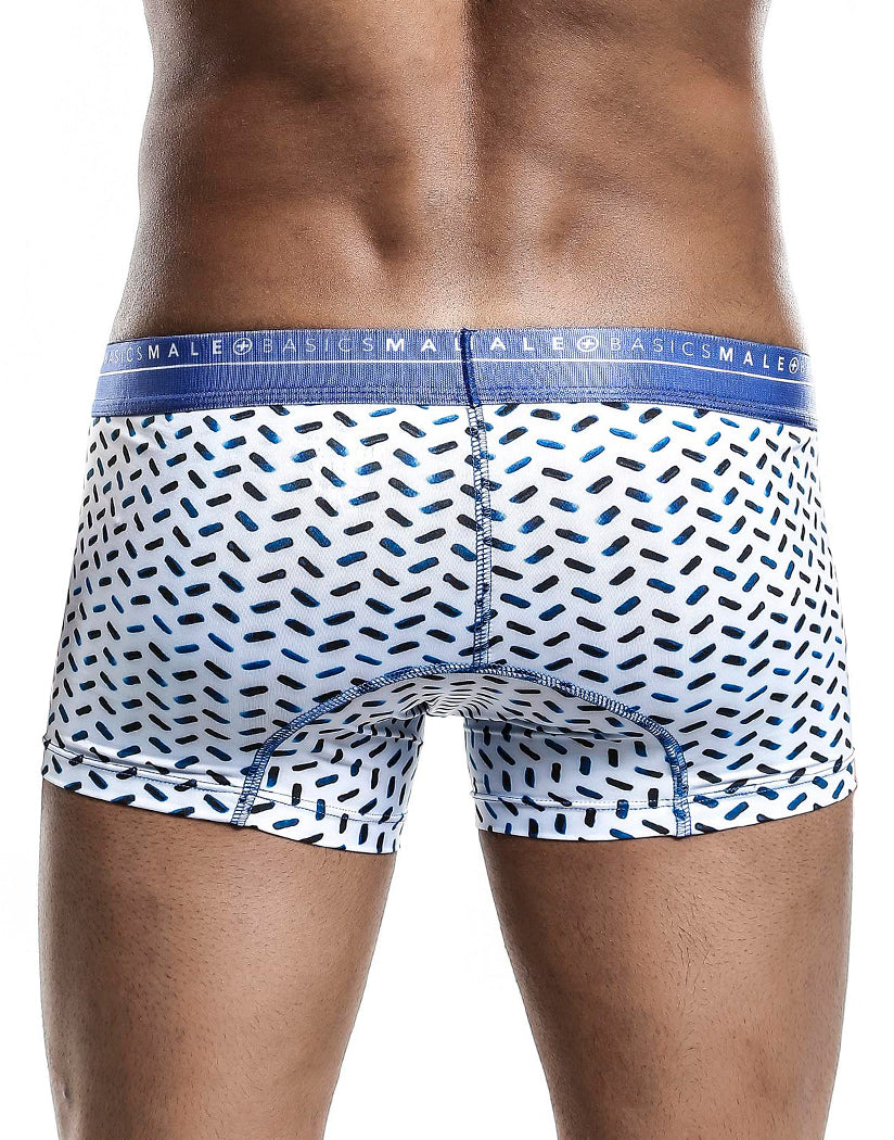 Mykonos Back Malebasics Men's Hipster Trunk MB201
