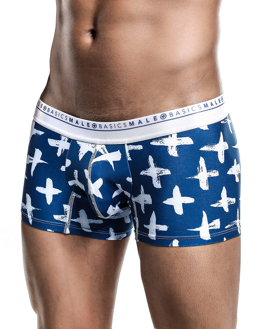 Santorini Side Malebasics Men's Hipster Trunk MB201