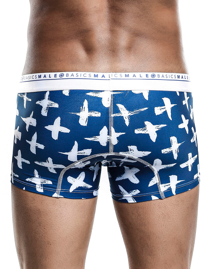 Santorini Back Malebasics Men's Hipster Trunk MB201