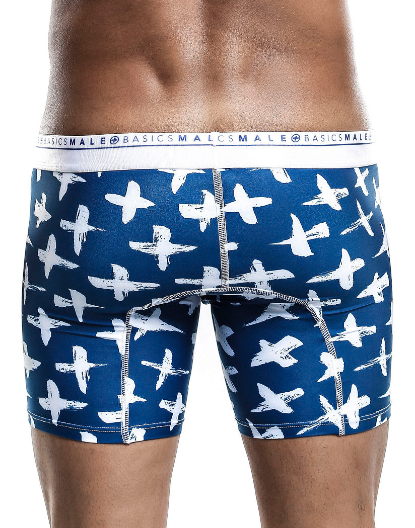 Santorini Back Malebasics Men's Hipster Boxer Brief MB202