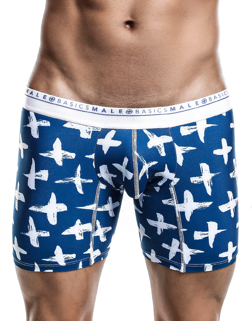 Santorini Front Malebasics Men's Hipster Boxer Brief MB202
