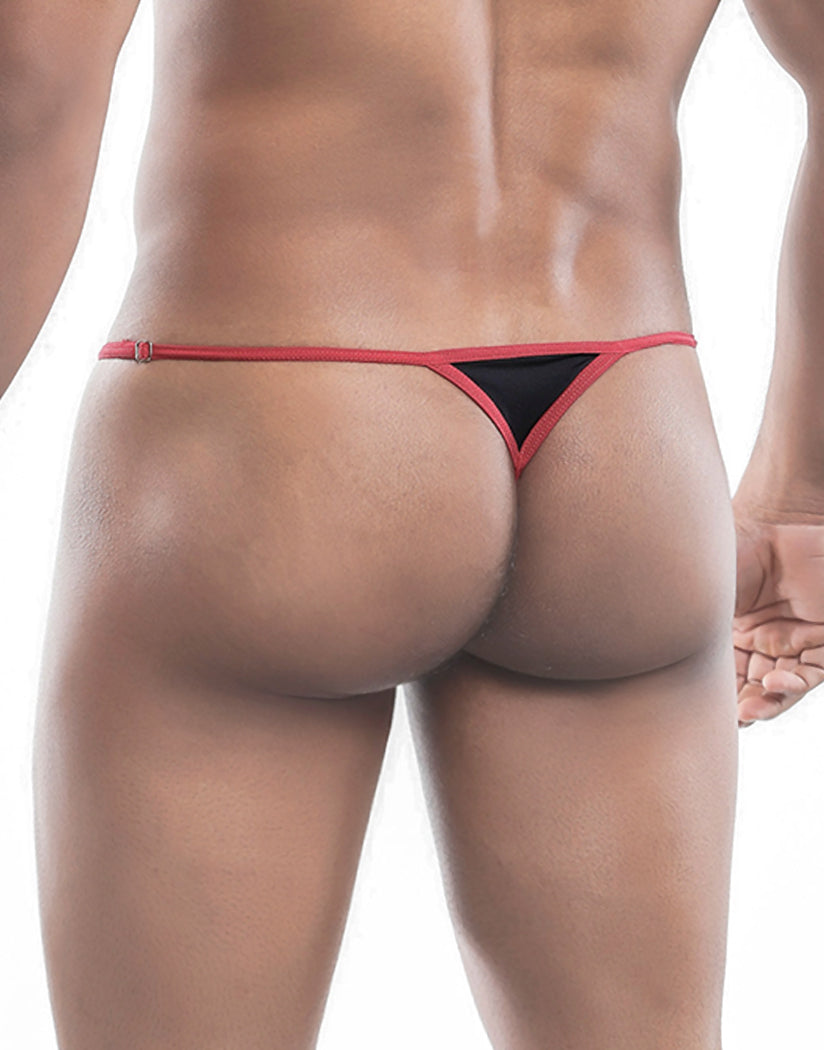 Black Back MOB Ergonomic Thong