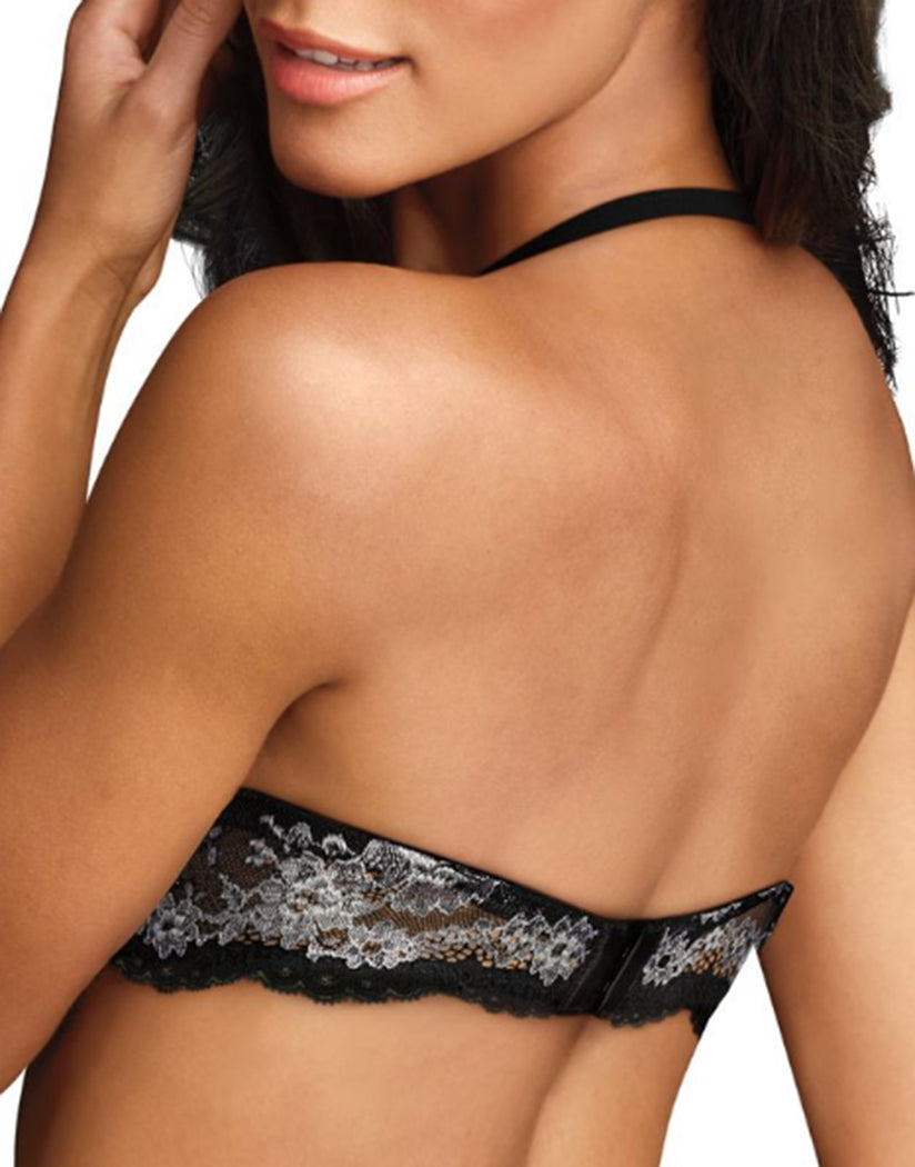 Black Stone Back Maidenform Love the Lift Natural Boost Demi T-Shirt Bra 09428