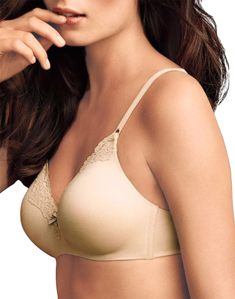 Latte Lift Black Front Maidenform Comfort Devotion Wirefree Lifting Demi Bra 09456